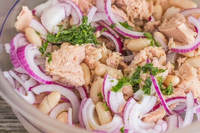 Fagioli col tonno – Witte bonen met tonijn enui