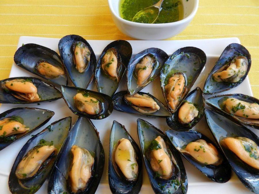 Cozze marinate al prezzemolo – gemarineerdemosselen