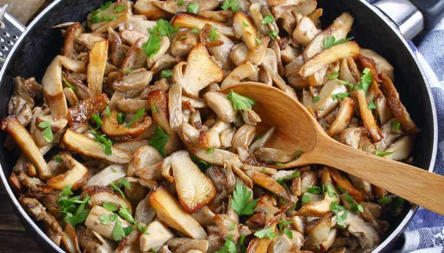 Funghi trifolati – gesauteerdepaddenstoelen